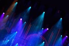 Indicatori luminosi della fase in philharmony Immagini Stock