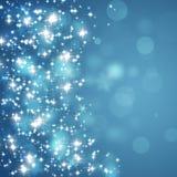 Indicatori luminosi della stella di scintillio Immagini Stock Libere da Diritti