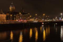 Indicatori luminosi di Amsterdam Fotografia Stock