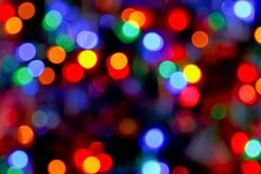 Indicatori luminosi di Bokeh fotografie stock libere da diritti
