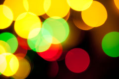 Indicatori luminosi di Bokeh Immagini Stock