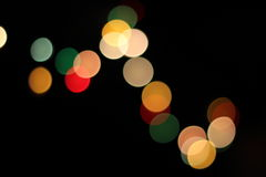 Indicatori luminosi di Bokeh Fotografia Stock Libera da Diritti