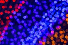 Indicatori luminosi di Bokeh immagini stock libere da diritti