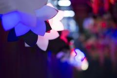 Indicatori luminosi di Bokeh fotografia stock