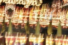 Indicatori luminosi di carnevale Fotografie Stock Libere da Diritti