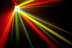 Indicatori luminosi di colore Immagini Stock