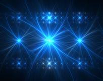 Indicatori luminosi di concerto Fotografia Stock