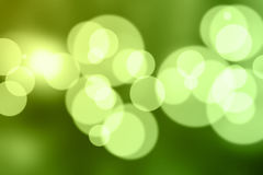 Indicatori luminosi di defocus della sfuocatura Immagine Stock