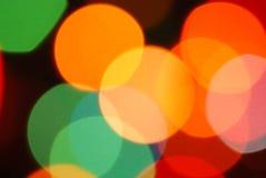 Indicatori luminosi di festa Immagine Stock