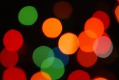 Indicatori luminosi di festa Fotografia Stock