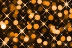 Indicatori luminosi di festa Fotografia Stock Libera da Diritti