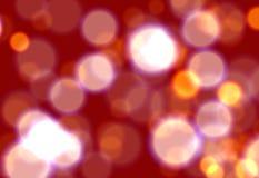 Indicatori luminosi di natale Fotografia Stock Libera da Diritti
