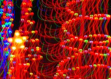 Indicatori luminosi di Natale Immagini Stock
