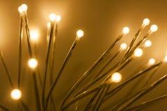 Indicatori luminosi di Natale Fotografia Stock