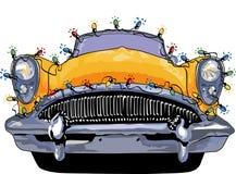 Indicatori luminosi di natale di Buick Immagini Stock Libere da Diritti