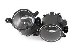 Indicatori luminosi di nebbia automobilistici Fotografie Stock Libere da Diritti