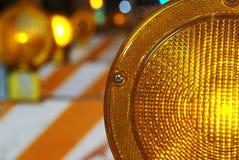 Indicatori luminosi di rischio Fotografia Stock Libera da Diritti