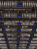 Indicatori luminosi di soffitto Fotografia Stock Libera da Diritti