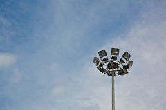 Indicatori luminosi di sport Fotografie Stock