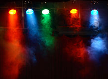 Indicatori luminosi di teatro Fotografia Stock