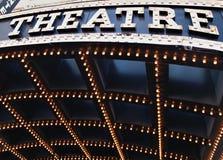 Indicatori luminosi di teatro Fotografie Stock Libere da Diritti
