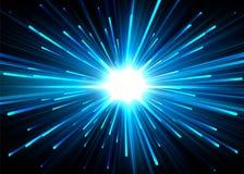 Indicatori luminosi di vettore Fotografia Stock Libera da Diritti