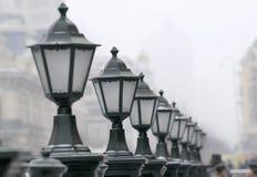 Indicatori luminosi di via fotografie stock libere da diritti