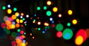 Indicatori luminosi festivi immagine stock libera da diritti