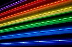 Indicatori luminosi fluorescenti Fotografia Stock Libera da Diritti