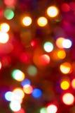 Indicatori luminosi magici Fotografia Stock