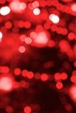 Indicatori luminosi magici rossi Fotografie Stock
