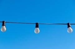 Indicatori luminosi nel cielo fotografie stock libere da diritti