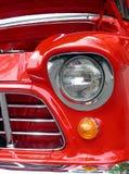 Indicatori luminosi nel colore rosso Fotografia Stock