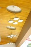 Indicatori luminosi nel soffitto Immagini Stock Libere da Diritti