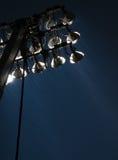 Indicatori luminosi nella pioggia Fotografie Stock