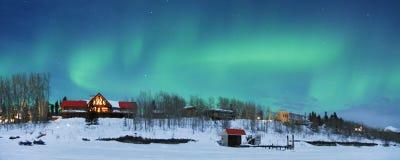 Indicatori luminosi nordici Immagine Stock Libera da Diritti