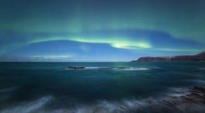 Indicatori luminosi nordici fotografia stock