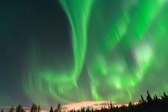 Indicatori luminosi nordici immagini stock libere da diritti