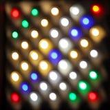 Indicatori luminosi piombo Fotografia Stock Libera da Diritti