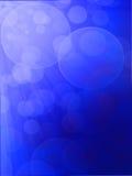 Indicatori luminosi su struttura blu di background Fotografia Stock Libera da Diritti