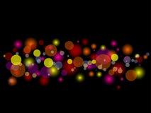Indicatori luminosi vaghi Fotografia Stock