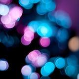 Indicatori luminosi vaghi Natale. Fotografie Stock Libere da Diritti