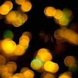 Indicatori luminosi vaghi natale Fotografia Stock Libera da Diritti