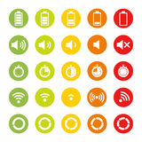 Indicators Icons Royalty Free Stock Photos