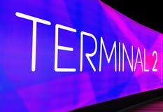 Indicazione terminale Fotografia Stock Libera da Diritti