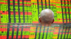 Indice analitico del mercato azionario Fotografia Stock