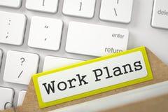 Indice della cartella con i programmi di lavoro 3d Immagine Stock Libera da Diritti