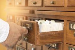 Indice delle biblioteche fotografia stock libera da diritti
