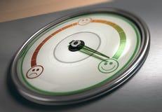 Indice di soddisfazione del cliente illustrazione vettoriale
