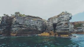 Indichi il perpendicolare, la baia di Jarvis, il Nuovo Galles del Sud, Australia Fotografie Stock Libere da Diritti